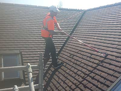 When it comes to roofs like any part of your home they have a habit of getting dirty. Moss on a roof not only looks unsightly but it can cause problems ... : cleaning roofs - memphite.com